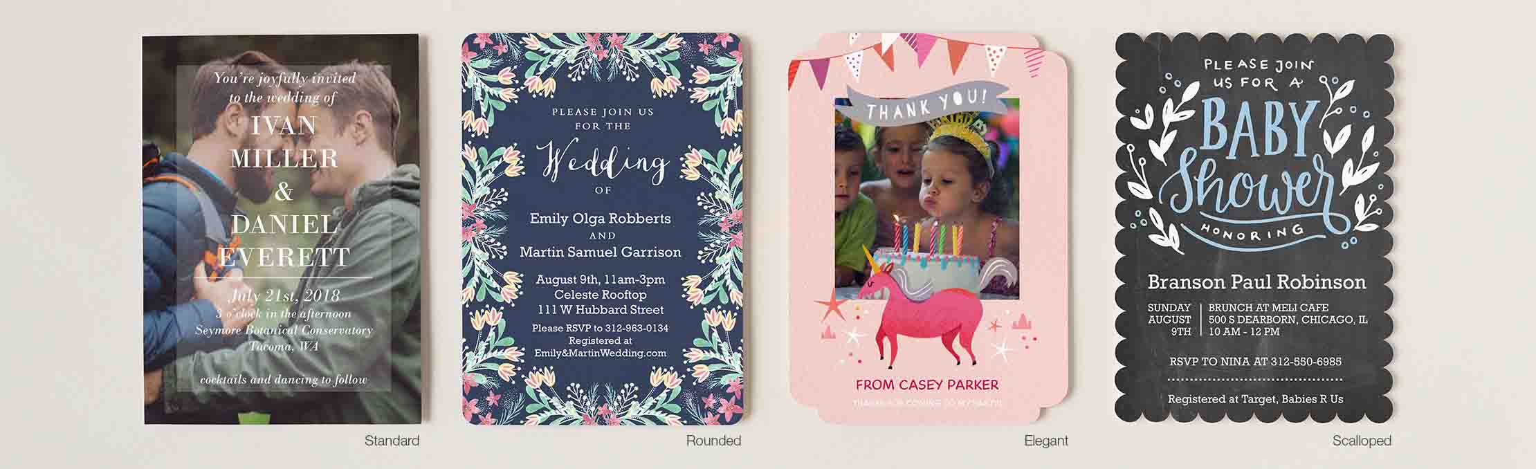 New Premium Cardstock Options: Foil, Trim and the features of our premium line