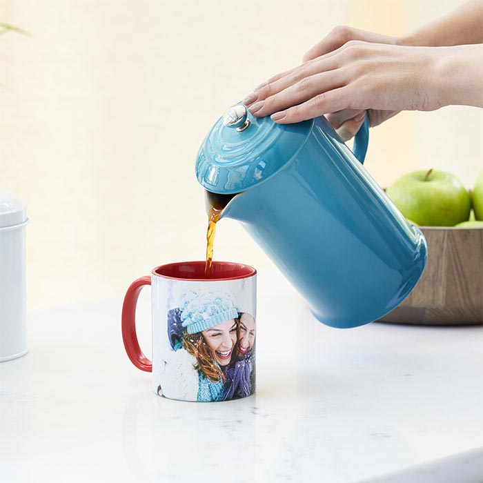 Create Custom Photo Mugs