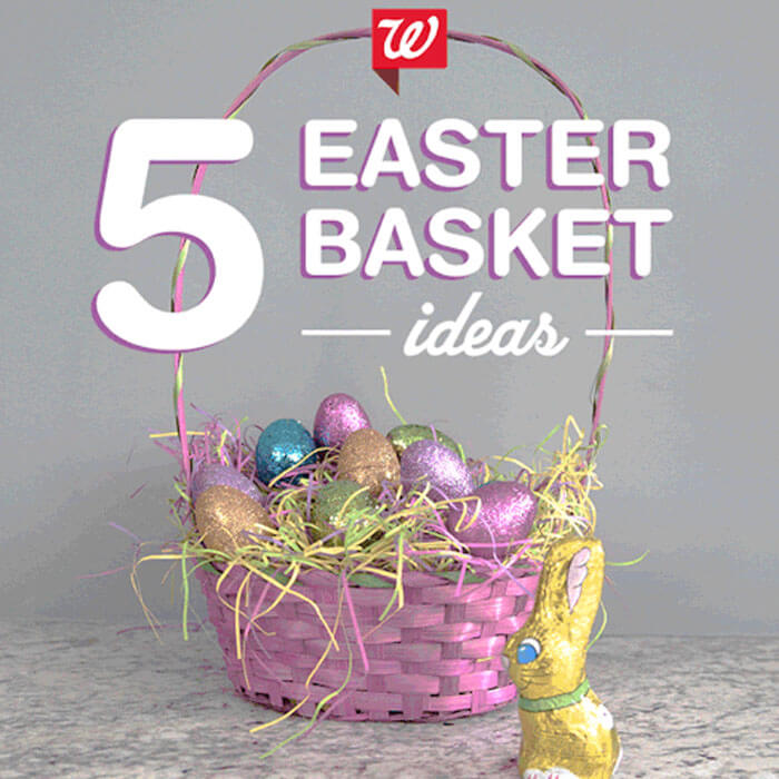 5 Easter Basket Ideas