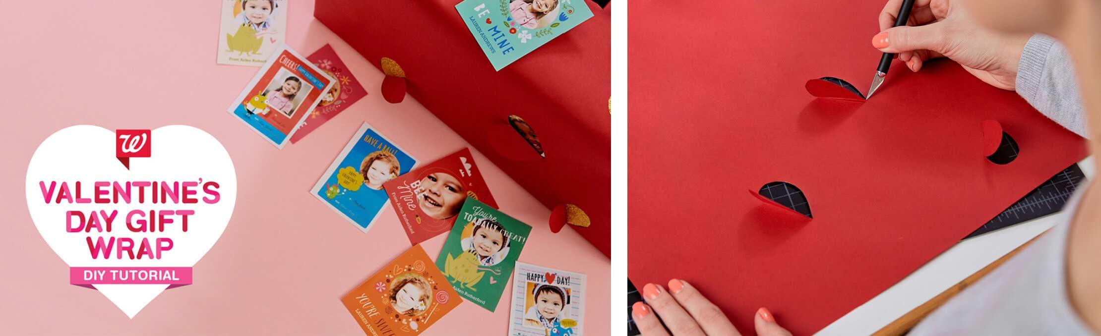 Valentine S Day Gift Wrap Idea Walgreens Photo Blog Walgreens Photo