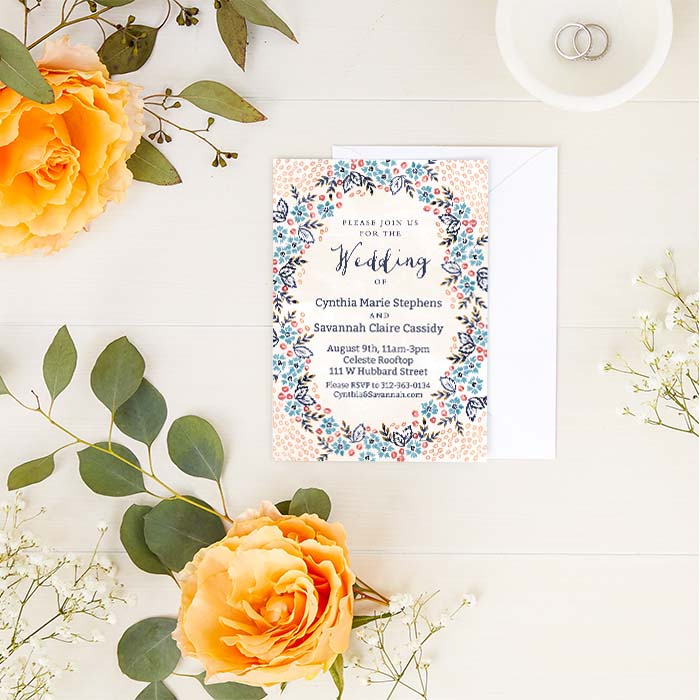 How to Word Same Gender Wedding Invitations