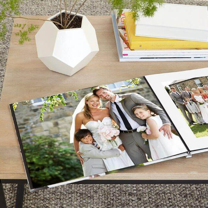 Personalized Wedding Photo Book