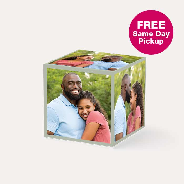 FREE Same Day Pickup. Photo Cube