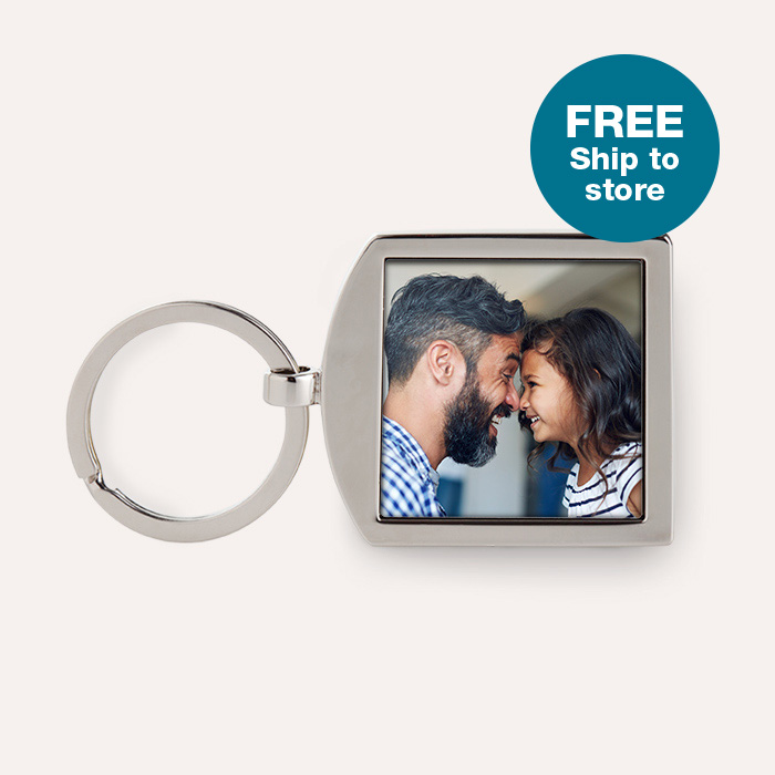 FREE Ship to store. Dual Sided Keychain