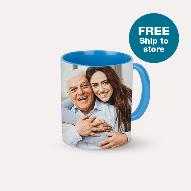 FREE Ship to Store. 11oz. Colored Mug