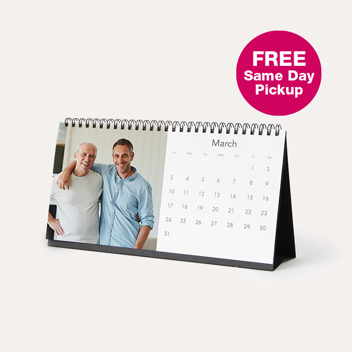 FREE Same Day Pickup. 4x8 Desktop Calendar