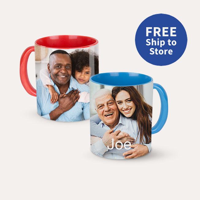 FREE Ship to Store. 11oz. Colored Mug