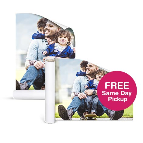 Custom Photo Posters And Banners Walgreens Photo - Map of the us poster size