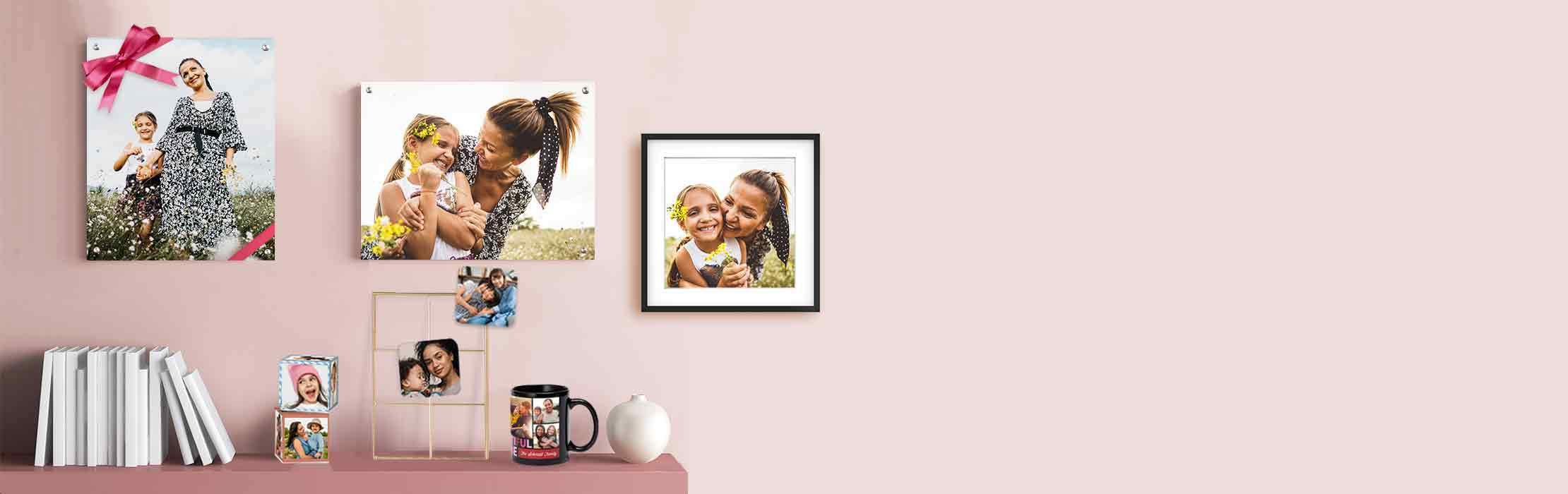 Give Mom a piece of your heart. Turn her favorite memories into treasured keepsakes.