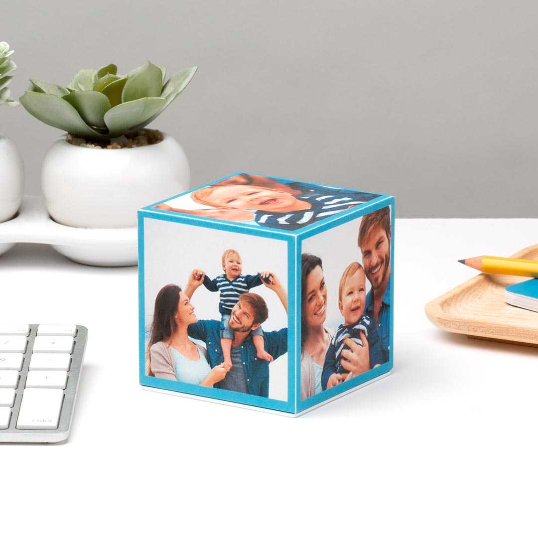 "Walgreens 3"" x 3"" Photo Cube (various styles)"