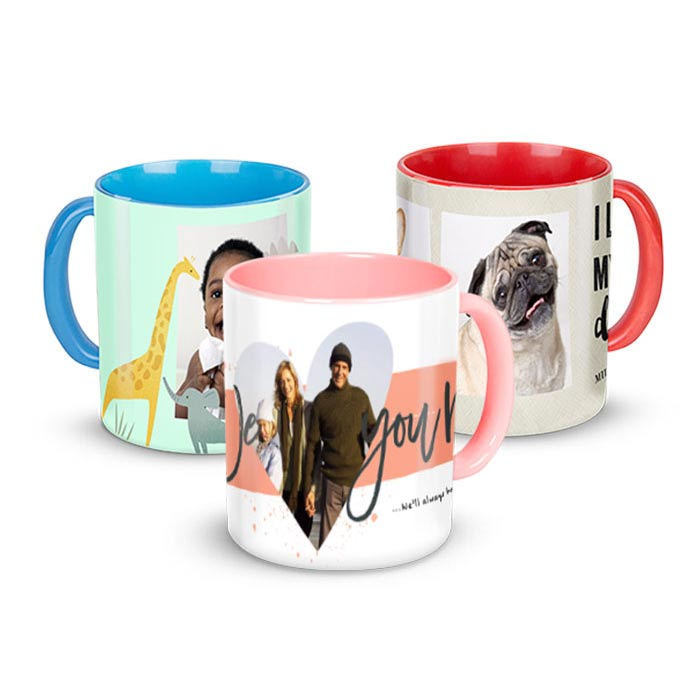 11 oz. Colored Mugs