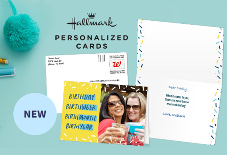 New - Hallmark Personalized Cards