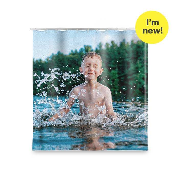 I'm New! Shower Curtain