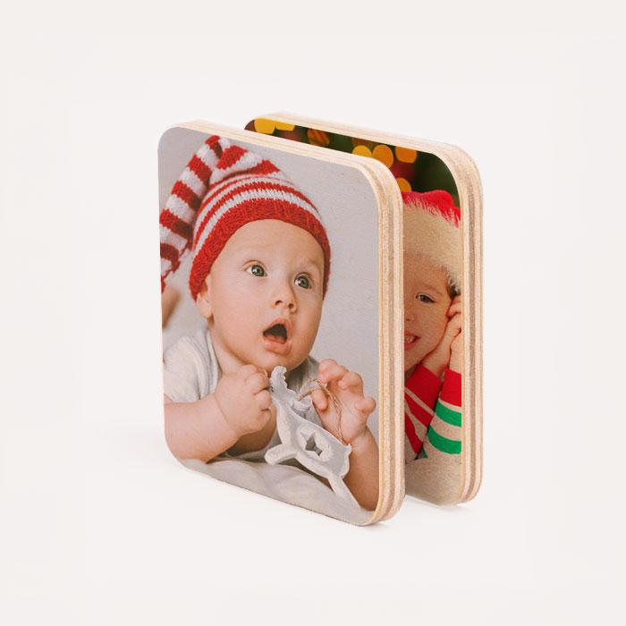 Wood Magnet Set image