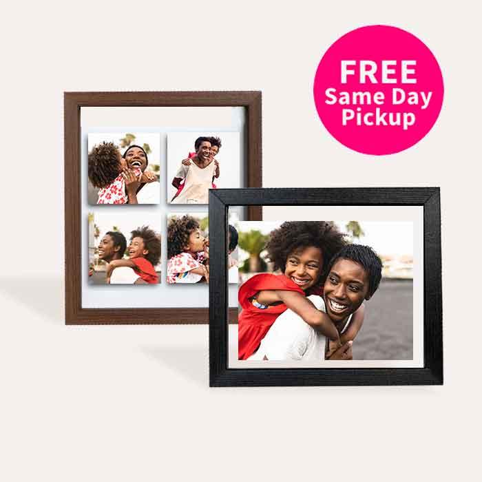 FREE Same Day Pickup. Custom Floating Frames