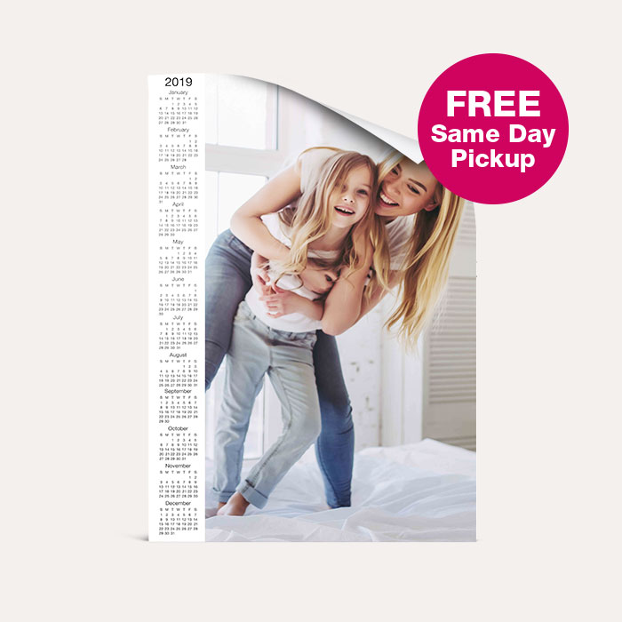 FREE Same Day Pickup. Calendar Poster