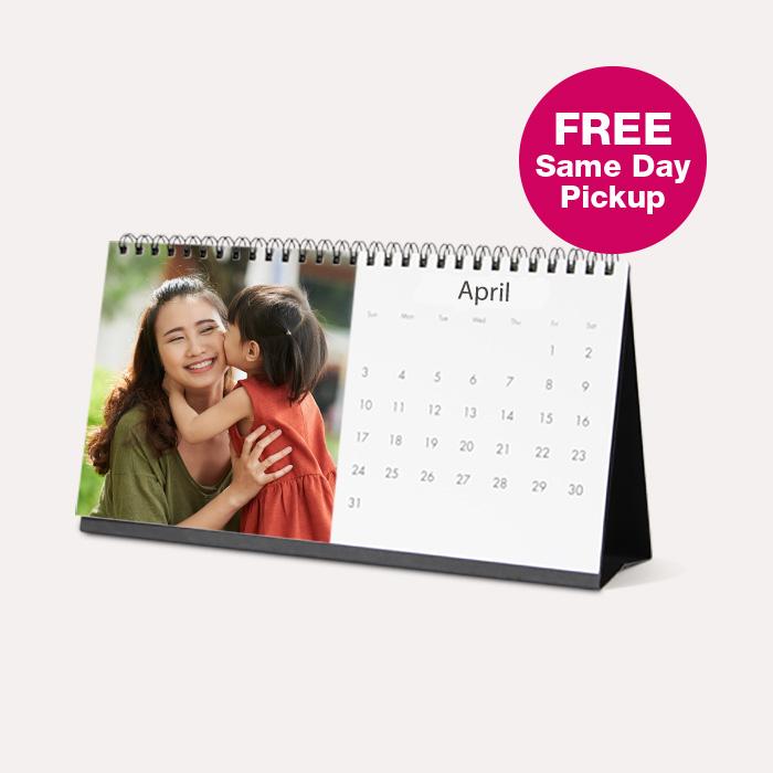 FREE Same Day Pickup. 4×8 Desk Calendars