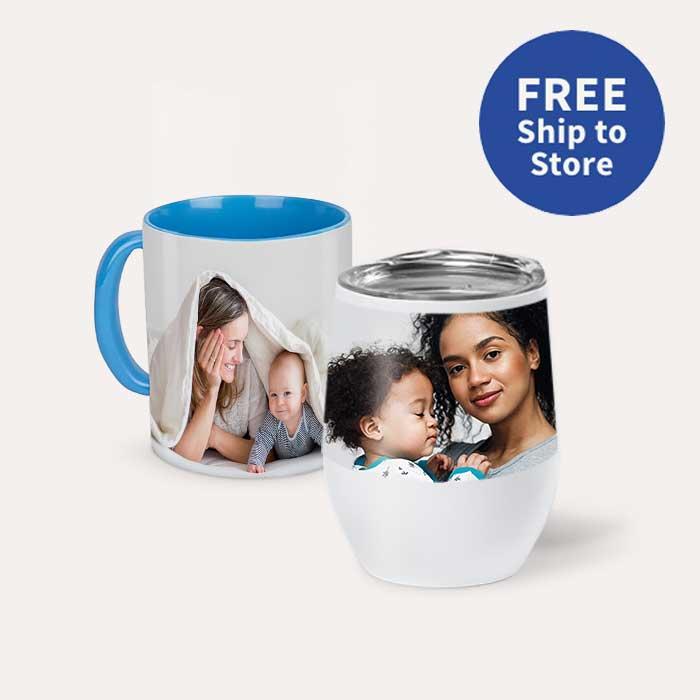 FREE Ship to Store. Mugs & Drinkware