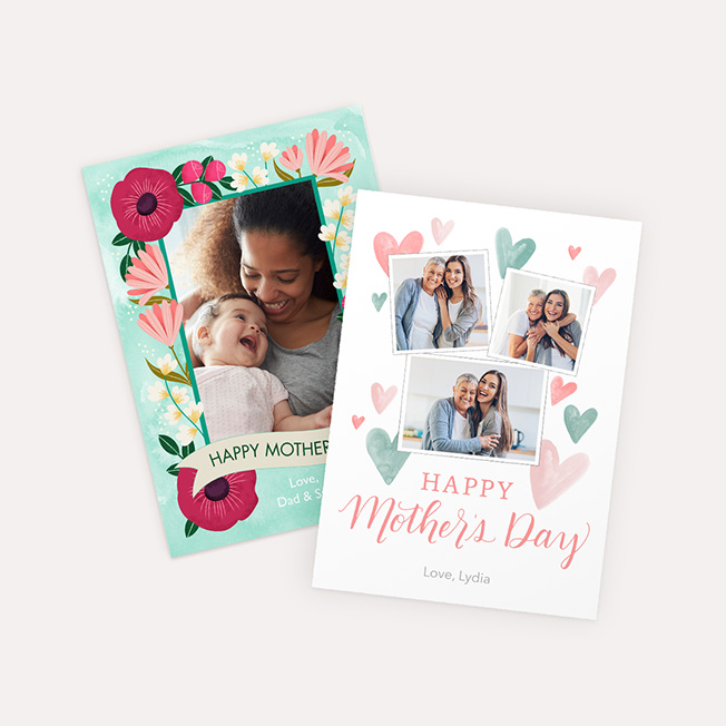 Folded Mother's Day Card