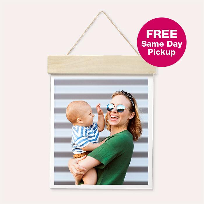 FREE Same Day Pickup. Wood Hanger Board Print