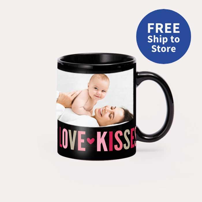 FREE Ship to Store. 11 oz Black Ceramic Mugs