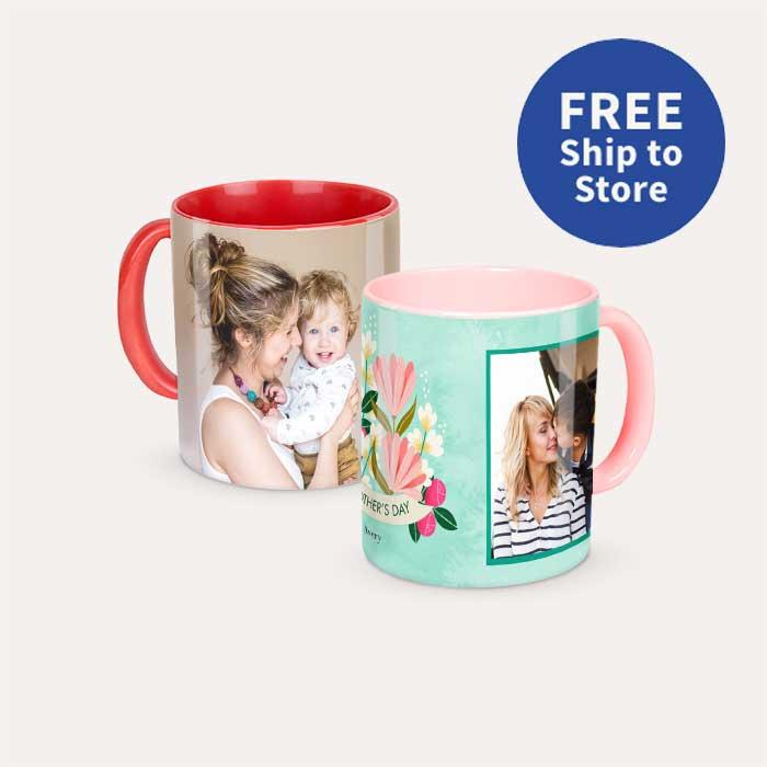 FREE Ship to Store. 11oz Colored Mug