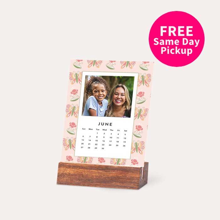 FREE Same Day Pickup. Wood Easel Calendars