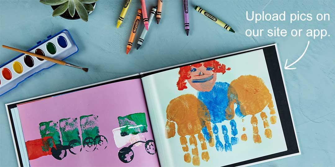 Her Little Artist's Photo Book