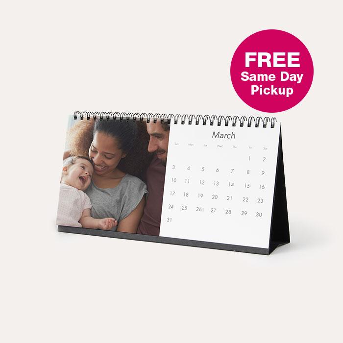 4x8 Desk Calendar