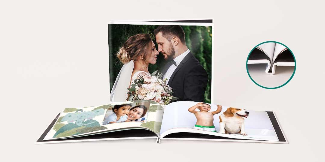 8.5x11 Custom Cover Photo Book image