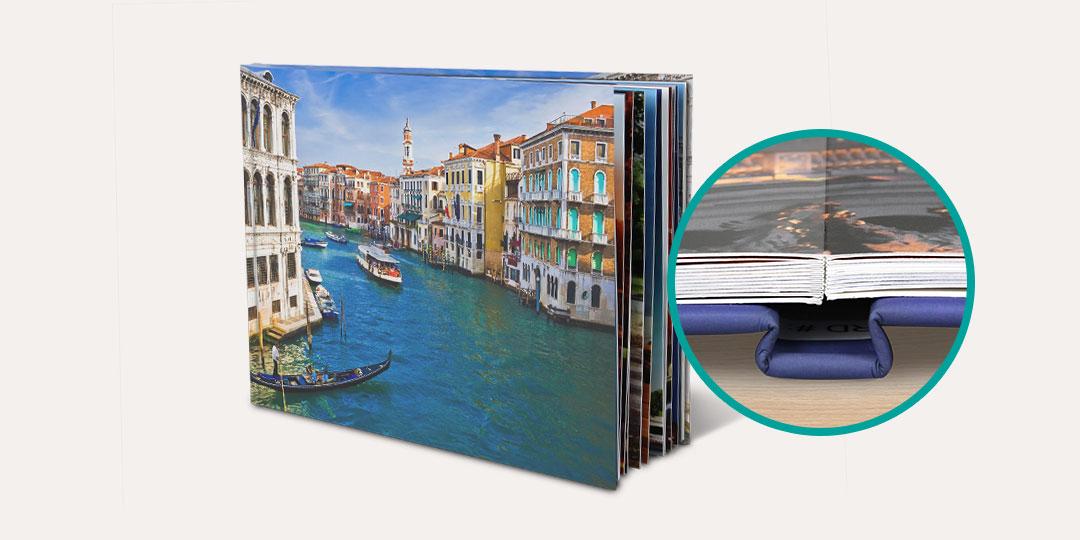 Premium Lay Flat Photo Book