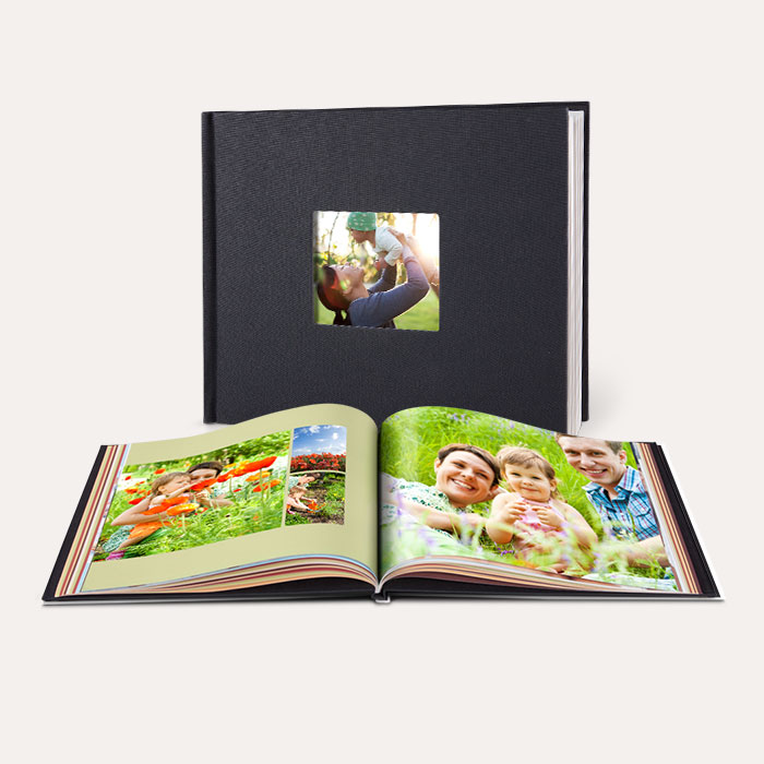 8.5x11 Window Cover Photo Book