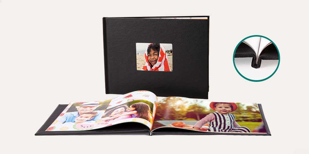 8.5x11 Window Cover Photo Book image