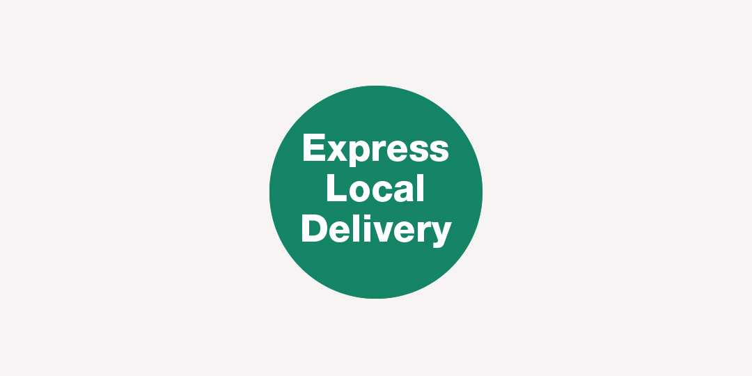 New! Express Local Delivery