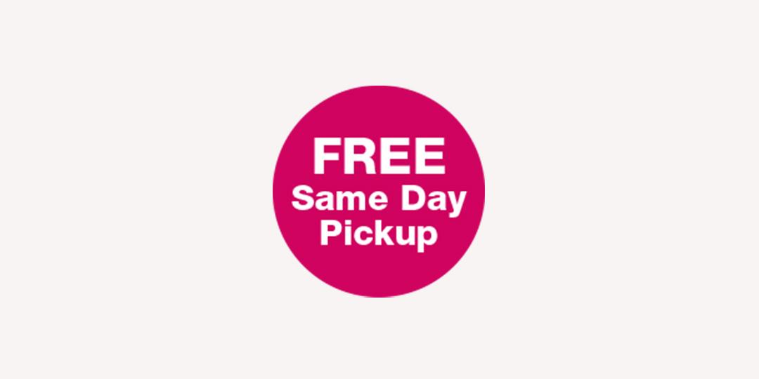 FREE Same Day Pickup