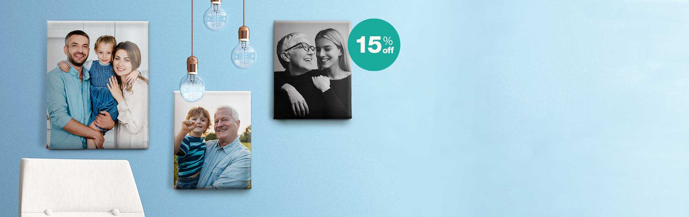 15% off sets. Voila! A home gallery wall