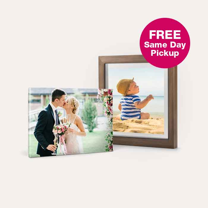 60% off Canvas Prints & Floating Frames. FREE Same day Pickup.
