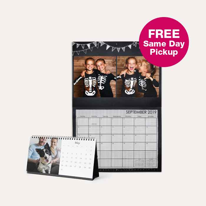 FREE Same Day Pickup. 50% off Calendars