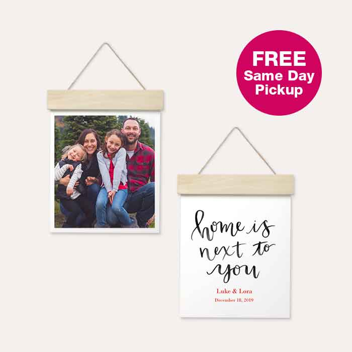 FREE Same Day Pickup. 60% off Wood Hanger Board Prints