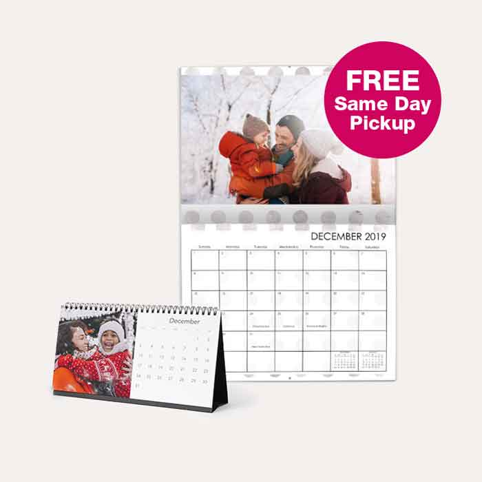 FREE Same Day Pickup. 50% off All Calendars