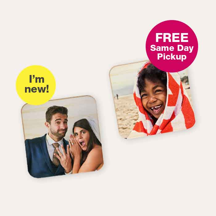 FREE Same Day Pickup. I'm new! 40% off Photo Gifts
