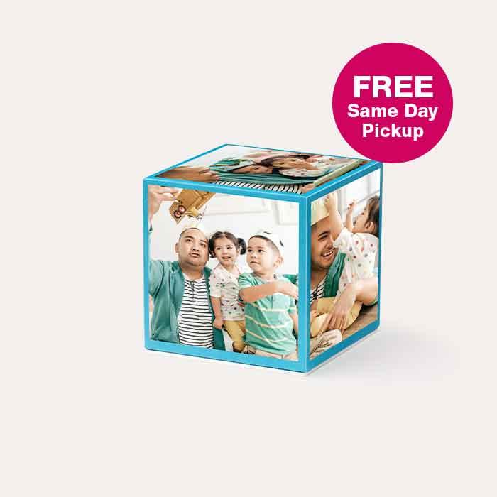 FREE Same Day Pickup Photo Cubes