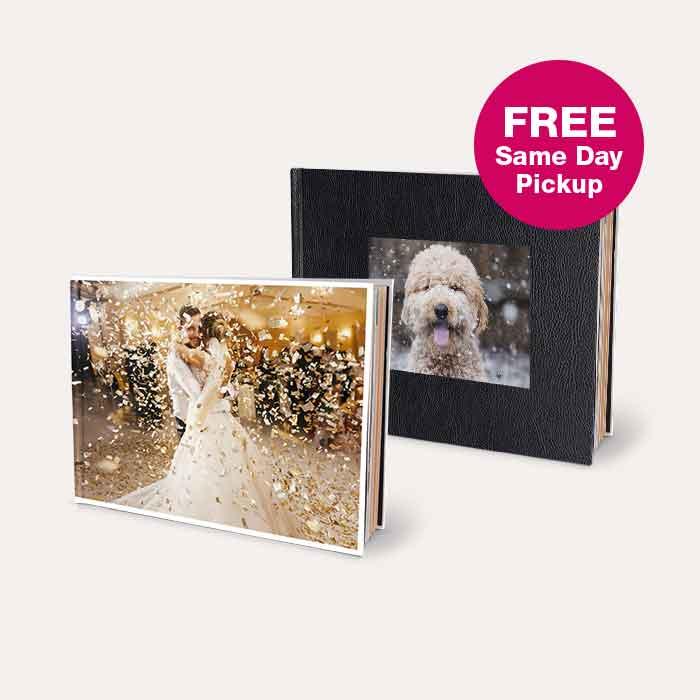 FREE Same Day Pickup Photo Books