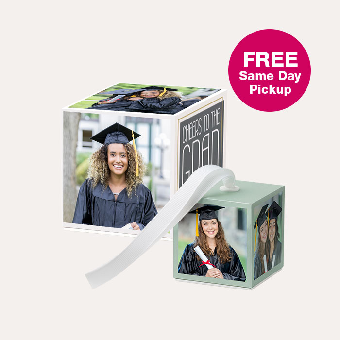 50% off Photo Cubes