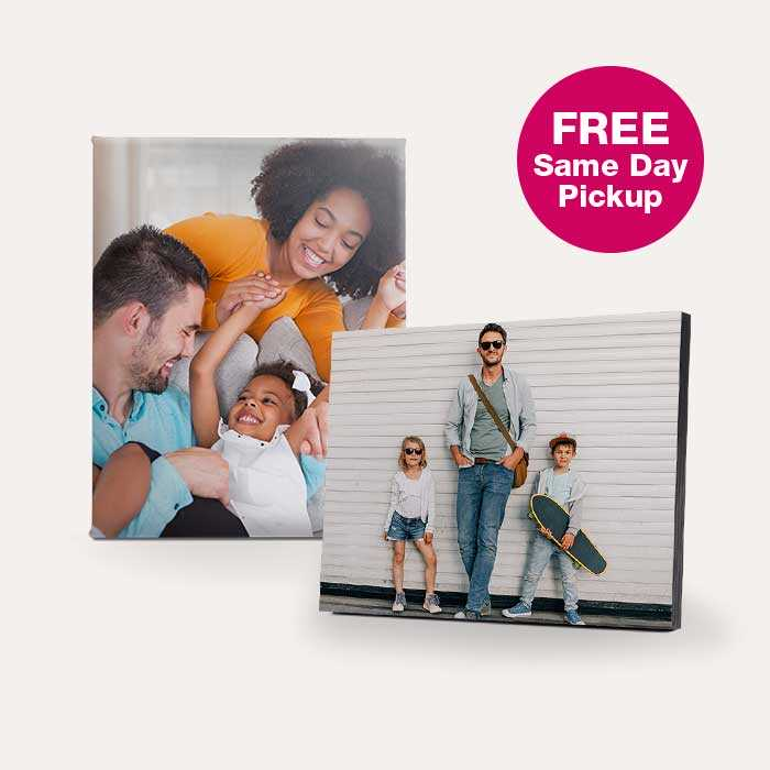 60% off Canvas Prints & Floating Frames
