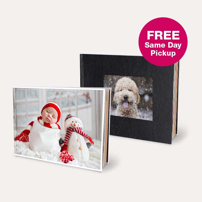 FREE Same Day Pickup. 50% off Photo Books.