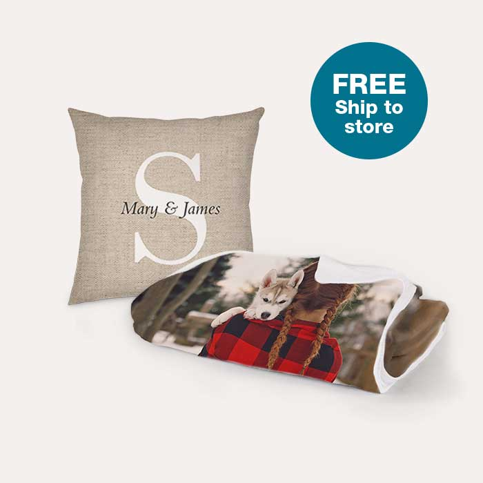 FREE Ship to store. 40% off Pillows & Blankets