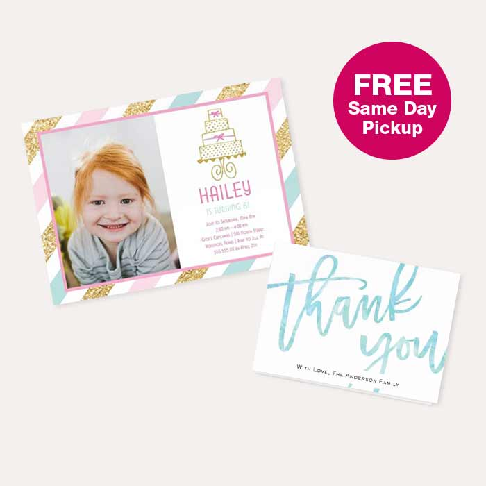 FREE Same Day Pickup. 40% off Photo Cards