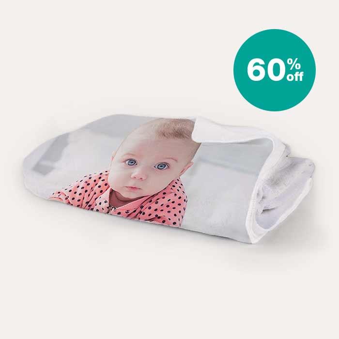 60% off 50x60 Fleece Blankets