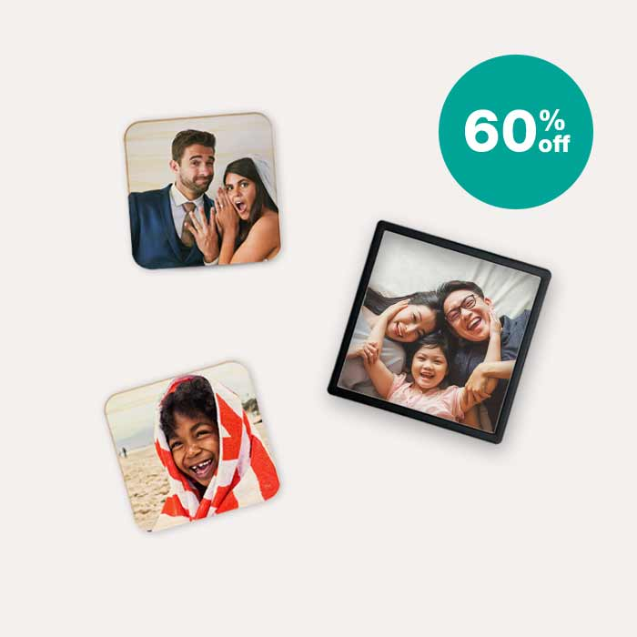 60% off Magnets